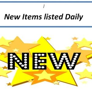 New Items Listed Daily